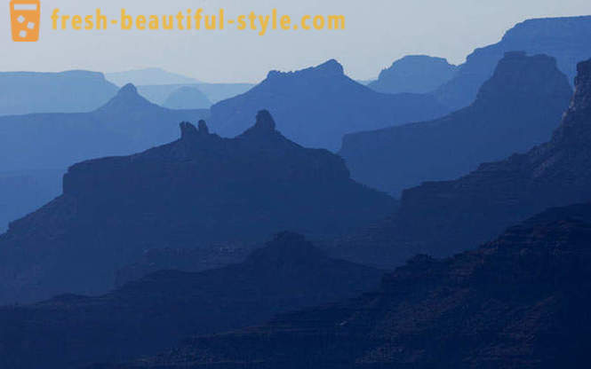 Grand Canyon negli Stati Uniti