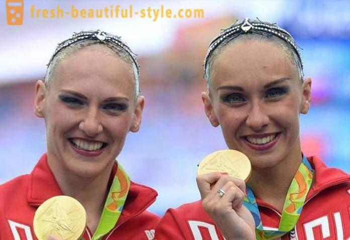 Campione Olimpico Svetlana Romashina